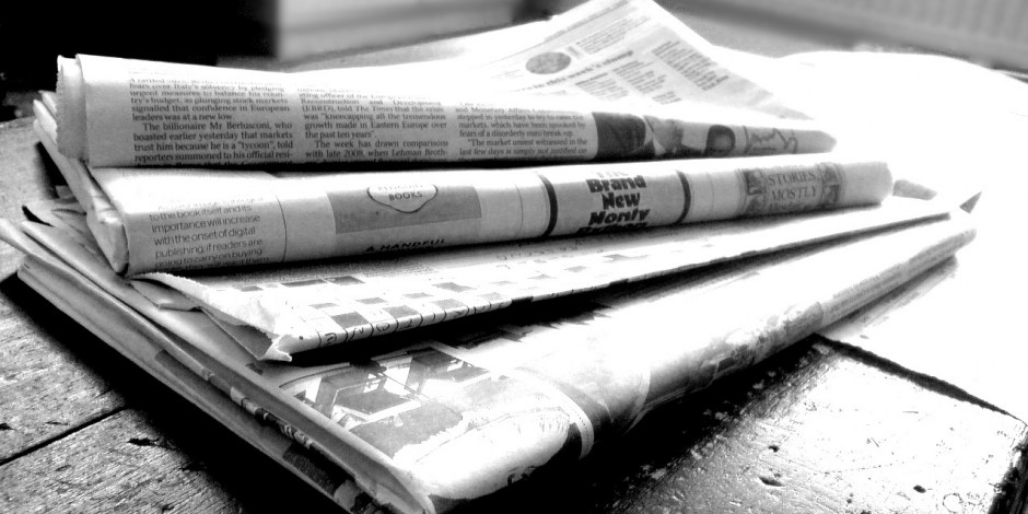 Image result for print newspaper images
