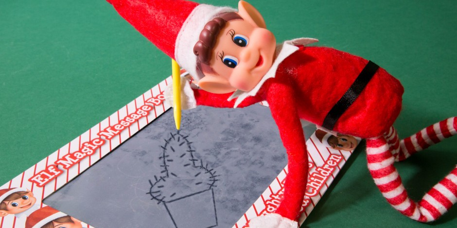 poundland s naughty elf