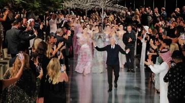 Giorgio Armani, una notte couture sotto il cielo di Dubai