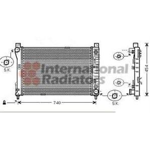 Radiator For Mercedes C Class + Estate Coupe CLC CLK