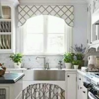 Cornice: Cornices can add pattern and a frame to kitchen ...