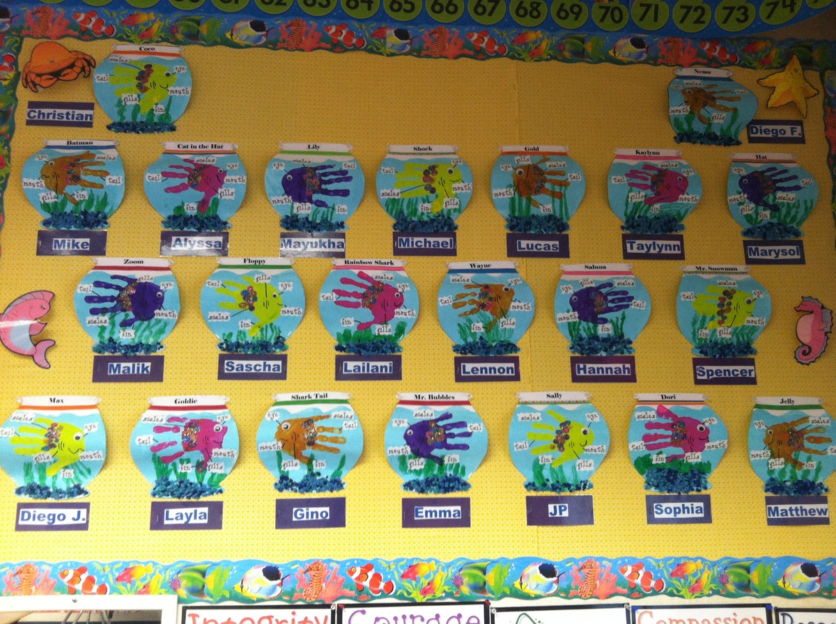 Open House Kindergarten And Farm Bulletin Board