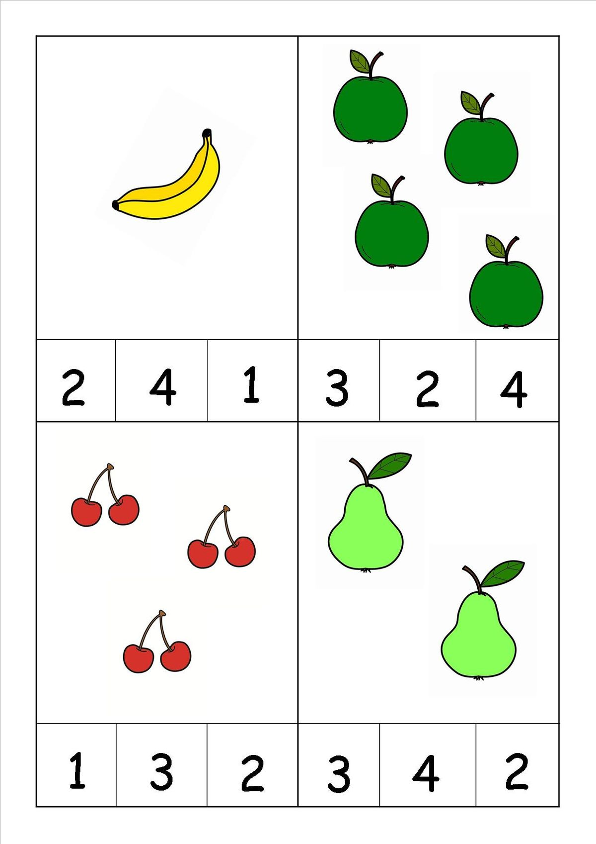 Thought Food Math Worksheet