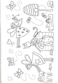 APPLIQUE PATTERNS OF FAIRY SILHOUETTE « FREE Knitting PATTERNS