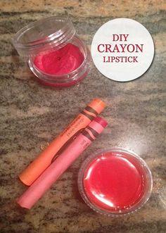 DIY Crayons Lipstick | Beauty and MakeUp Tips