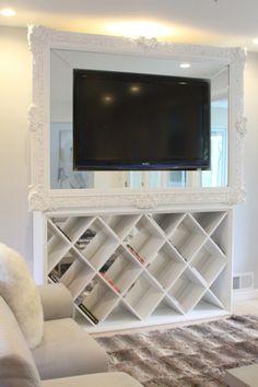 living room decorating ideas uk traditional sofas furniture around flat screen tv on pinterest   frames ...