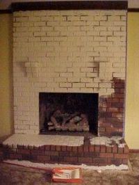 Refurbish fireplace on Pinterest | Fireplace Makeovers ...