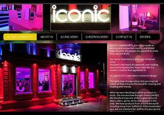 ICONIC LOWESTOFT Bar and Grill. Website Designer/marketing seo Frontlineweb.biz.
