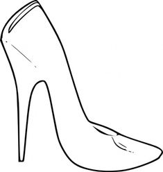 Fancy Shoes Coloring Pages, Fancy, Free Engine Image For