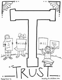 Letter coloring pages: AWESOME bible coloring pages with