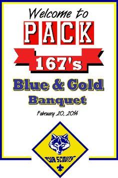 cub scout blue gold banquet dinner