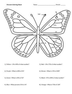 Order Of Operations Coloring Page Coloring Pages