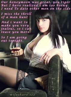 wife after date cuckold captions