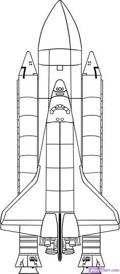 Kids space + rocket craft ideas + planes on Pinterest