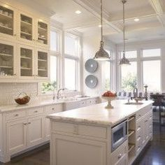 Stacked to the Ceiling on Pinterest  Cabinets Kitchens