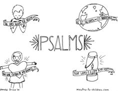 Book Of Psalms Bible Coloring Page Sketch Coloring Page