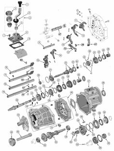Jeep Wrangler Manual Transmission Diagram, Jeep, Free