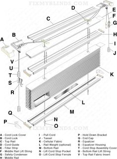 Diagram Of A Window Shade Diagram of a Jacket wiring