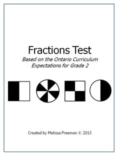This 17 mark test is based on the Grade 2 expectations