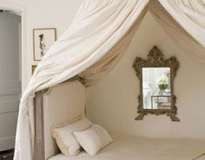 Canopy Beds Draped Beds Pinterest