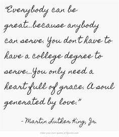 martin luther king jr quotes everybody can be great