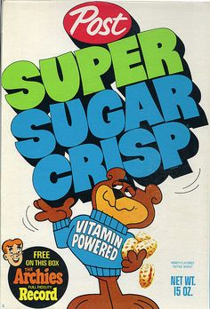 I used to eat this sugar loaded cereal