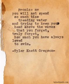 -Tyler Knott Gregson-
