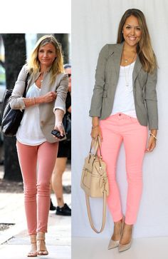 STYLE IT #CAbi can make this happen!  Spring Cropped Bree Jean, Perfect Tee and the cozy Shrunken Peacoat.  ADORABLE :)