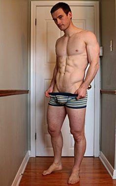 blonde bottom in jock straps