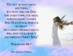 Image result for phil 4:6-7 picture
