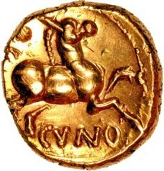 Celtic Gold Coin
