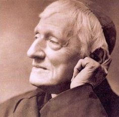 John Henry Newman, whose On The Development of Christian Doctrine was pivotal in my conversion to Catholicism and for whom I took the name John Henry at confirmation.