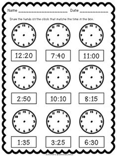 Our 5 favorite first grade math worksheets