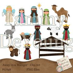 Image Result For Handmade Nativitya