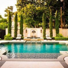 huge landscape tuscan style backyard