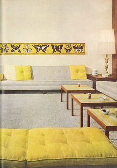 60s Interiors On Pinterest Mid Century Modern Mid