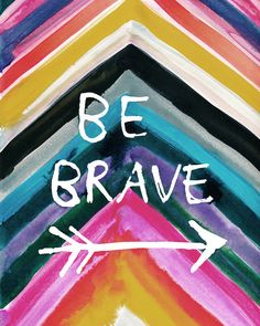 Connect with the courage within you and practice being brave. Face your fears and move towards a life in freedom. #edrecovery #courage #inspirational