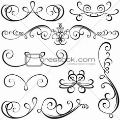 Scroll Design on Pinterest
