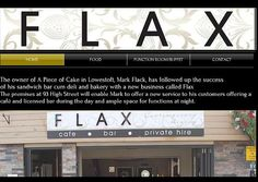 Flax Bar Cafe and Function room Hire #Lowestoft Website Design Frontlineweb #suffolk