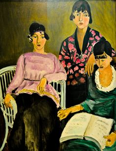 Henri Matisse - The Three Sisters, 1917 at Musée de l'Orangerie Paris France by mbell1975, via Flickr