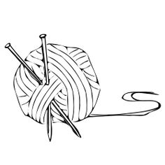 Knitting and Crochet Clipart on Pinterest
