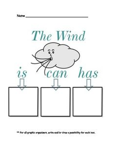 Wind, Weather, And Clouds Packet Use with The Wind Blew