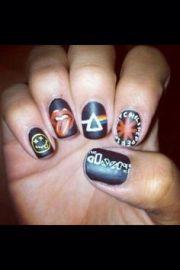 emo nails batman