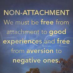Image result for non-attachment quotes