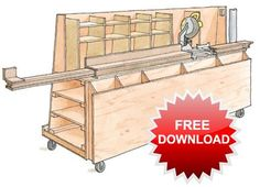 Ultimate Miter Saw Station Plans