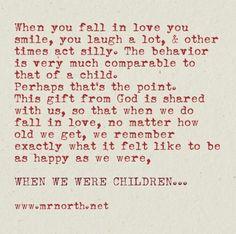 When u fall in love