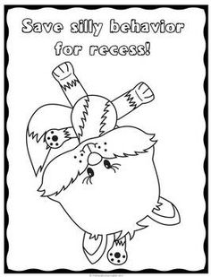Good Behavior Coloring Pages Sketch Coloring Page