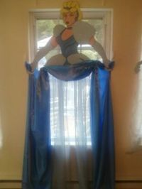 Cinderella+Storybook+Character+Curtains/+Wall+Prop+by ...