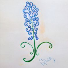Bluebonnet Tattoo Drawings Related Keywords Bluebonnet