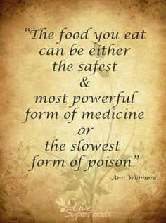 Ann Wigmore says...